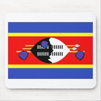 Bandera de Swazilandia Alfombrillas De Ratones