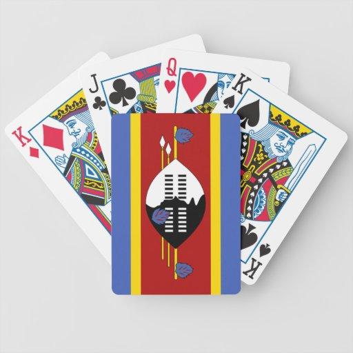 Bandera de Swazilandia Baraja Cartas De Poker