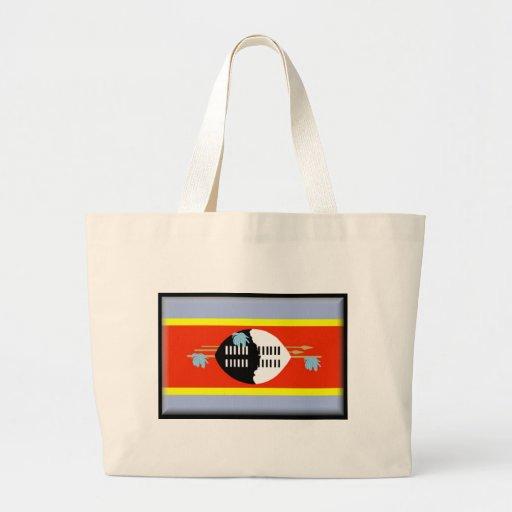 Bandera de Swazilandia Bolsa Tela Grande