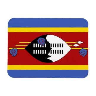 Bandera de Swazilandia Imanes De Vinilo
