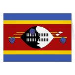 Bandera de Swazilandia Tarjeta