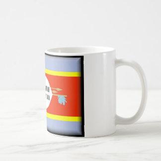 Bandera de Swazilandia Tazas De Café
