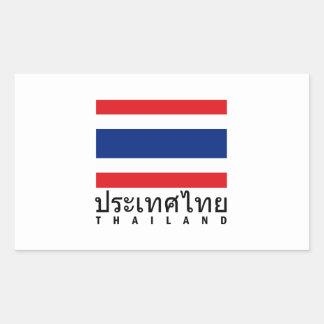Bandera de Tailandia Pegatinas