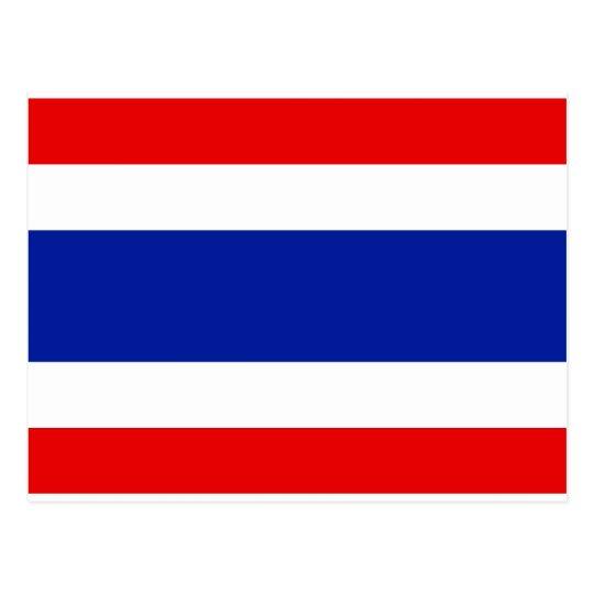 Bandera de Tailandia Postales