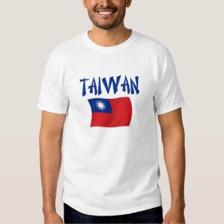 Bandera de Taiwán Camisas