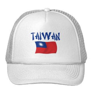 Bandera de Taiwán Gorras De Camionero