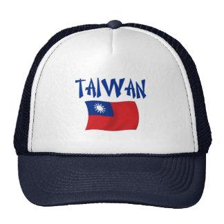 Bandera de Taiwán Gorro