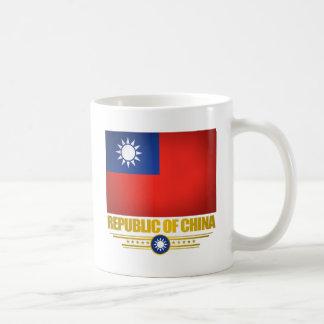Bandera de Taiwán (la República de China) Taza De Café