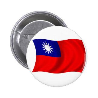 Bandera de Taiwán Pins