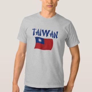 Bandera de Taiwán Playeras