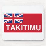 Bandera de Takitimu (Nueva Zelanda maorí) Alfombrillas De Ratones