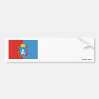 Bandera de Tambov Oblast Pegatina De Parachoque