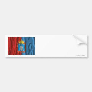 Bandera de Tambov Oblast Etiqueta De Parachoque