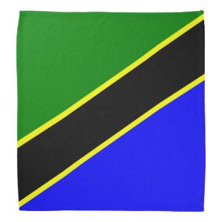 Bandera de Tanzania Bandanas