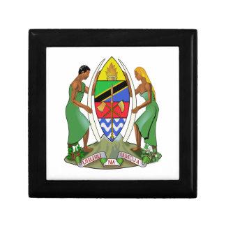 Bandera de Tanzania Caja De Regalo