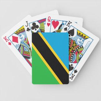 Bandera de Tanzania Barajas De Cartas