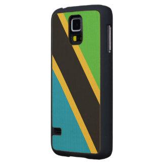 Bandera de Tanzania Funda De Galaxy S5 Slim Arce