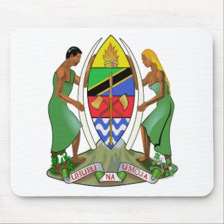 Bandera de Tanzania Alfombrilla De Ratón