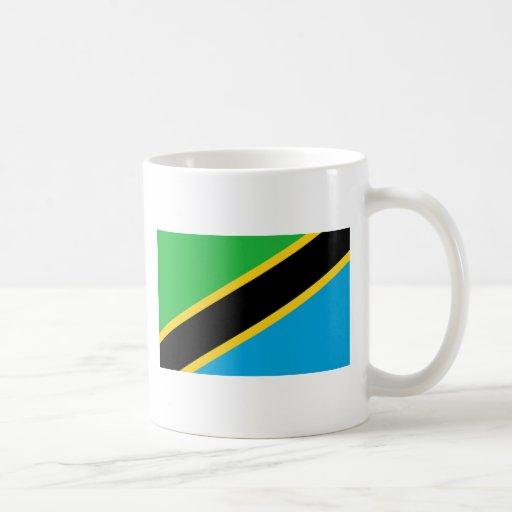 Bandera de Tanzania Taza De Café