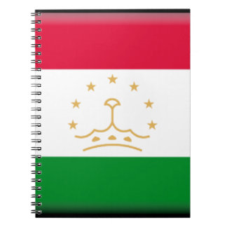 Bandera de Tayikistán Libreta