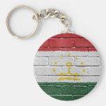 Bandera de Tayikistán Llavero