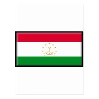 Bandera de Tayikistán Tarjeta Postal