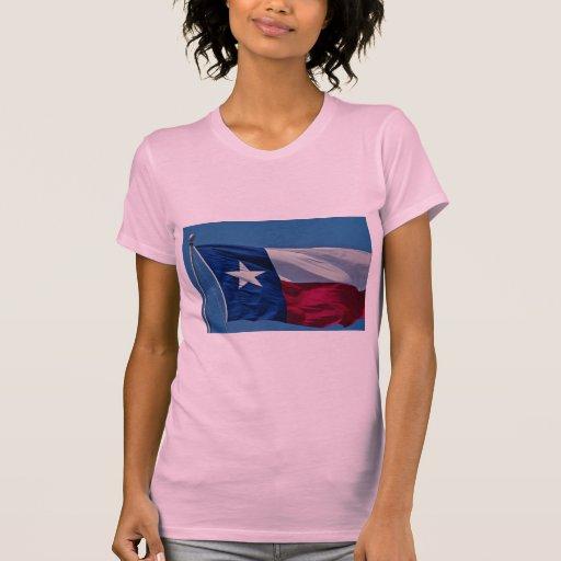 Bandera de Tejas Camisetas