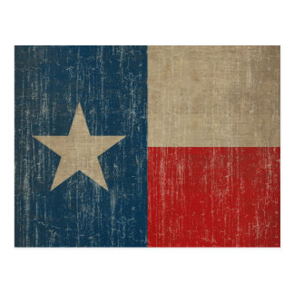 Bandera de Tejas del vintage Postales