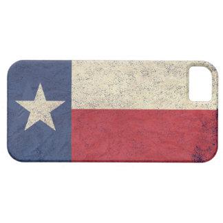 Bandera de Tejas envejecida iPhone 5 Protectores