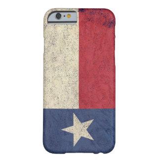 Bandera de Tejas envejecida Funda De iPhone 6 Barely There