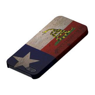 Bandera de Tejas Gadsden para el iPhone 5 iPhone 5 Cárcasas