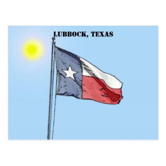 Bandera de Tejas, Lubbock, Tejas Postal
