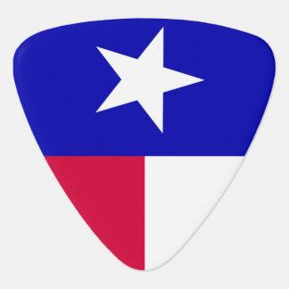 Bandera de Tejas Uñeta De Guitarra
