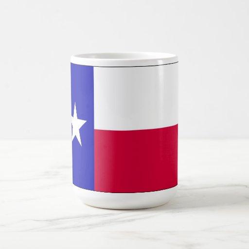Bandera de Tejas Taza De Café