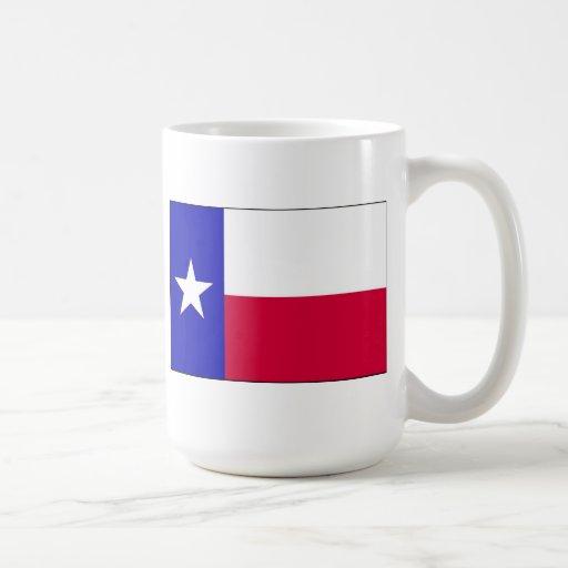 Bandera de Tejas Tazas
