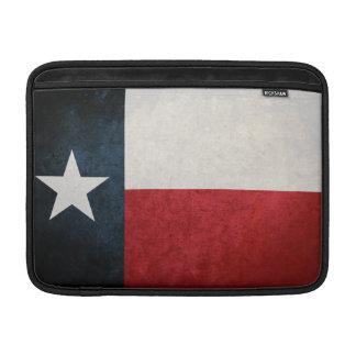 Bandera de Tejas Texan Fundas MacBook