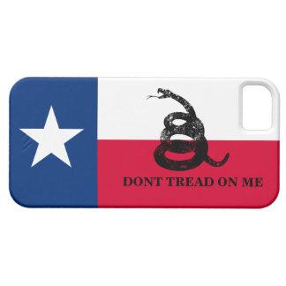 Bandera de Tejas y de Gadsden iPhone 5 Funda