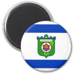 Bandera de Tel Aviv Imán De Nevera