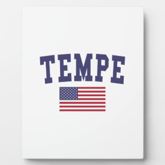 Bandera de Tempe los E.E.U.U. Placa