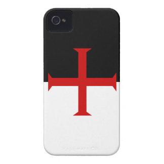 Bandera de Templar de los caballeros Case-Mate iPhone 4 Cárcasas
