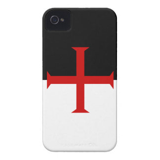 Bandera de Templar de los caballeros iPhone 4 Case-Mate Coberturas
