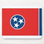 Bandera de Tennessee Alfombrillas De Ratón
