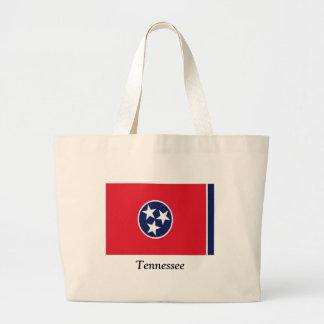 Bandera de Tennessee Bolsa Tela Grande