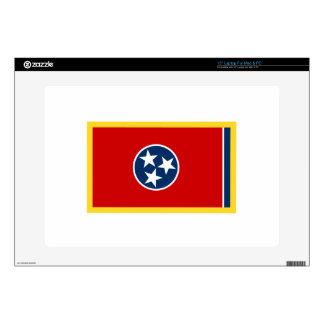 Bandera de Tennessee del borde del oro Skins Para Portátiles