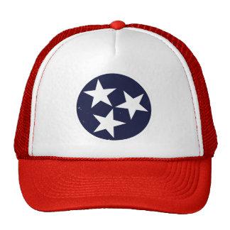Bandera de Tennessee Gorros Bordados