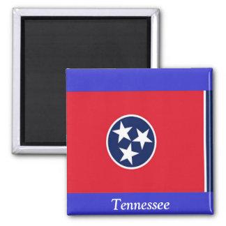 Bandera de Tennessee Imán Cuadrado