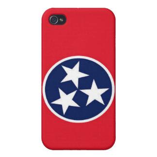 Bandera de Tennessee iPhone 4 Funda