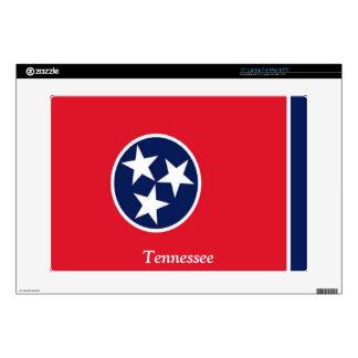 Bandera de Tennessee Calcomanía Para 38,1cm Portátil
