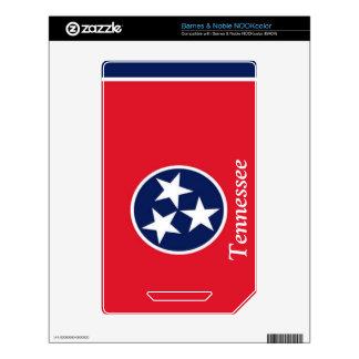 Bandera de Tennessee NOOK Color Skin