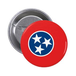 Bandera de Tennessee Pin Redondo De 2 Pulgadas
